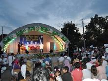 Празднование Ураза-Байрама в Национальной деревне посетил министр