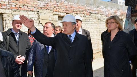 Валерий Радаев уверен в возможности реконструировать старый ТЮЗ к концу года