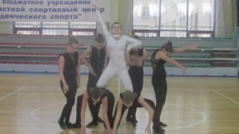 Команда СГЮА стала первой в ритмической гимнастике