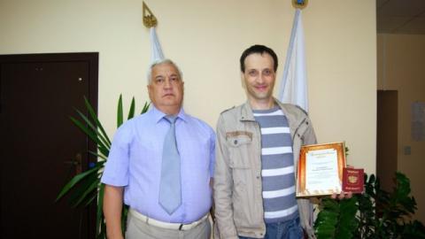 Стотысячным пользователем портала госуслуг в Саратове стал Леонид Блюмберг