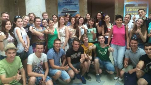 Студенты СГЮА отправились на отдых в Крым