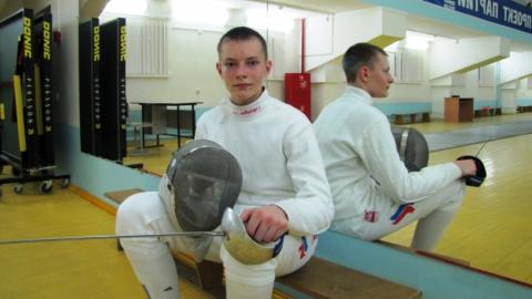 Студент СГЮА стал мастером спорта по фехтованию на рапирах
