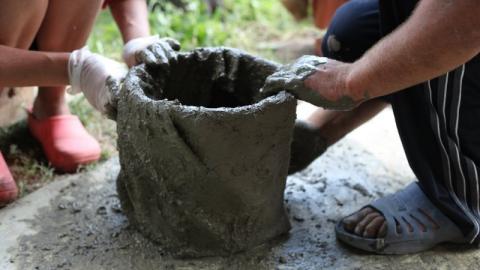 У балаковского дачного вора конфисковали бетономешалку