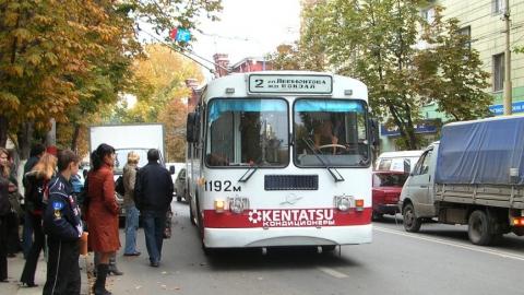 Троллейбус №2 в Саратове не