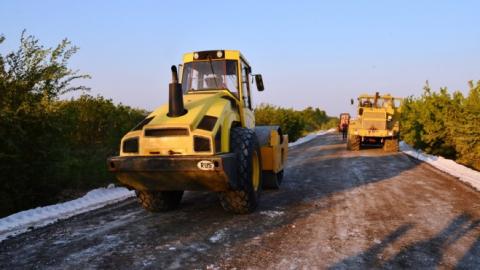 Завершено строительство фосфогипсовой дороги в Балаковском районе