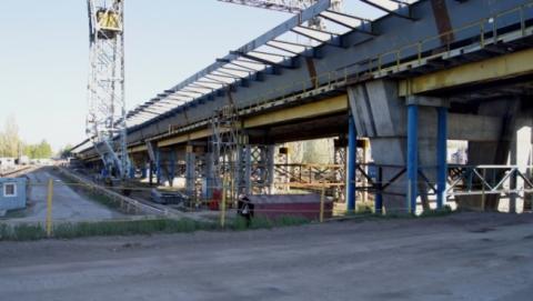 Готовность балаковского моста составляет 80 процентов
