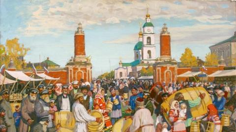 В Саратове продолжают работать субботние ярмарки