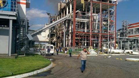 Врыв на заводе в Балаково. Скончался еще один пострадавший