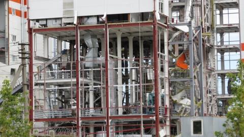 Последствия взрыва на балаковском маслозаводе. Фото