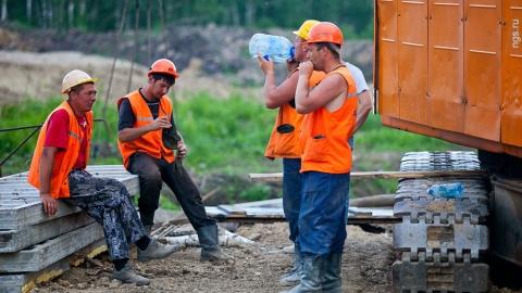 В Вольске на стройке пострадал рабочий из Таджикистана