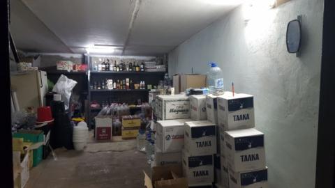 Полицейские изъяли 1325 литров нелегального алкоголя