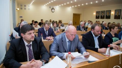 В СГЮА прошло заседание Ученого совета