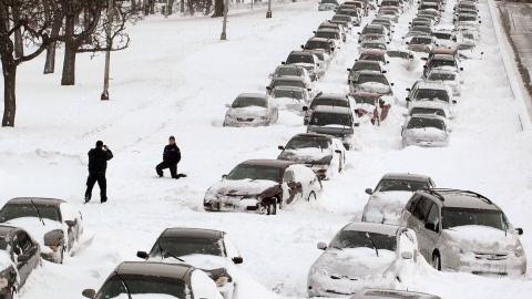 В Саратове ожидается похолодание со снегом и гололедицей