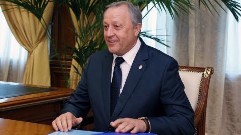 Валерий Радаев поднялся на 2 строчки в рейтинге губернаторов