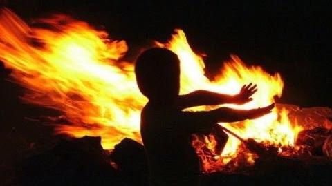 В селе под Саратовом на пожаре погибли трое детей