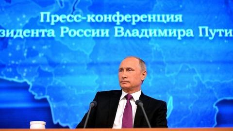 Большая пресс-конференция президента РФ Владимира Путина (17.12.2015) смотреть полностью бесплатный