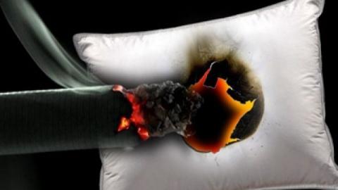 Курение в постели стоило жизни покровчанину