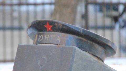 В Саратове почтили память погибшего в Сирии морпеха