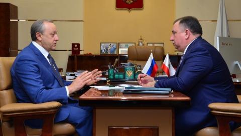 Валерий Радаев провел встречу с Валерием Сараевым впервые после его назначения