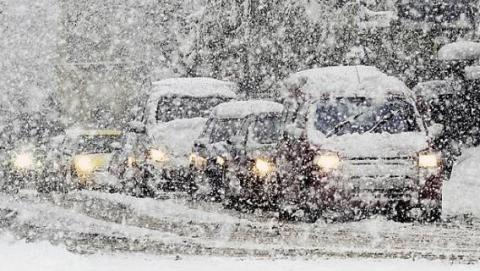 В воскресенье Саратов и область ожидает масштабный снегопад