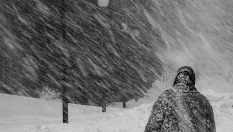 Украинский циклон принесет в Саратов метель и обрыв проводов