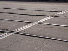 Временно прекращает работу трамвай №10