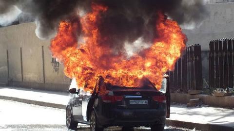 Покровчанин завел машину и едва не сгорел