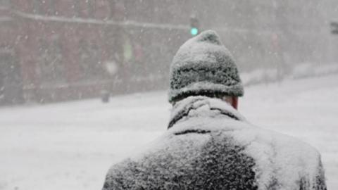 На трассе под Саратовом водитель замерз насмерть