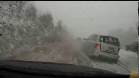 Водителей предупреждают об опасности на дорогах в среду 3 февраля