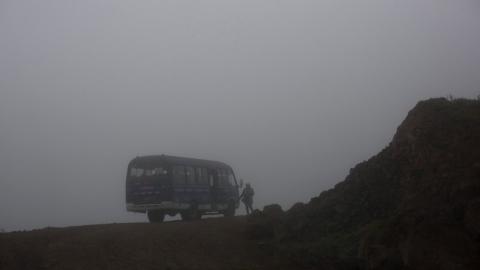 Из-за тумана дороги Саратовской области закрыли для автобусов