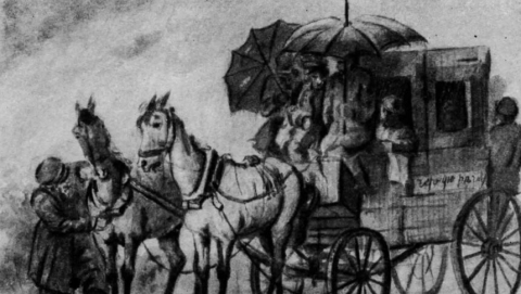 1 апрѣля въ Саратове преотвратнѣйшая погода.