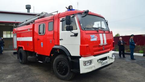 ВСабуровке открыли пожарно-спасательный пост