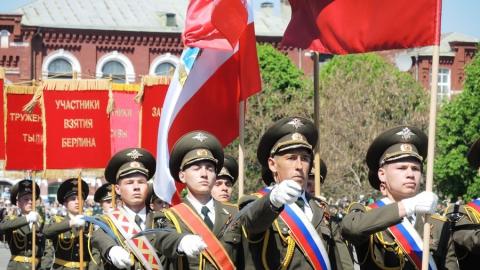 ВСаратове прошел парад Победы