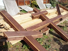 Уничтоженные поклонные кресты будут восстановлены