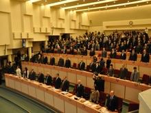 Состоялось первое заседание облдумы пятого созыва. Фоторепортаж