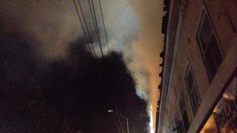 Изгорящего дома наПервомайской эвакуировали 15 человек