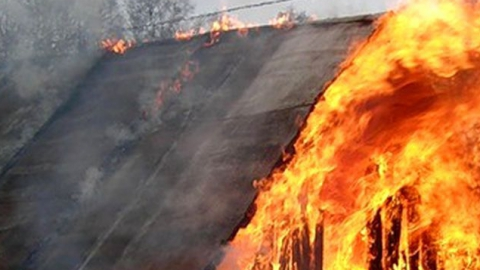 ВЭнгельсе напожаре вдаче погибла женщина