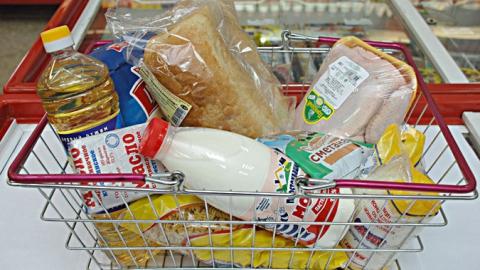 Стоимость минимального набора продуктов вСаратовской области оказалась ниже 3-х тыс. руб.