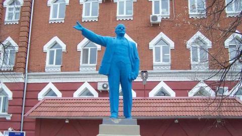Саратовский памятник Ленину стал вторым в рейтинге сатирического шоу