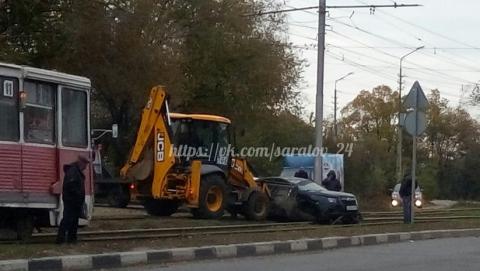 Сегодня вСаратове из-за происшествия надороге заблокировано движение трамваев маршрута №11
