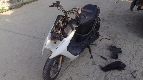 Подростки угнали скутер ужительницы Заводского района