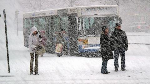 ВСаратове прогнозируют снег идождь