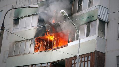 Насос поподаче битумной смеси горел вКамАЗе вСаратове