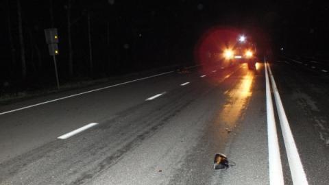 НаВольском тракте женщина погибла под колесами автомобиля