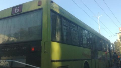 ВСаратове столкнулись два рейсовых автобуса