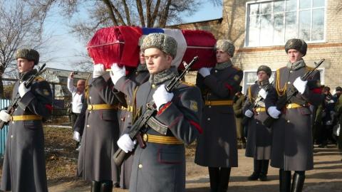 Под Саратовом захоронили останки солдата Великой Отечественной войны
