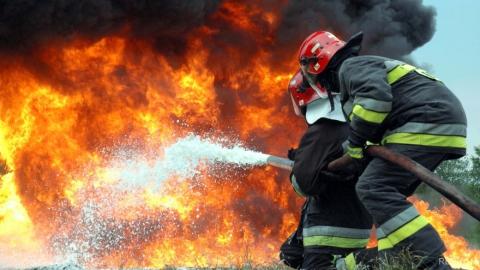 Саратовец пострадал на пожаре в центре города