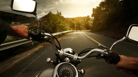 Нетрезвого мотоциклиста поймали под Саратовом