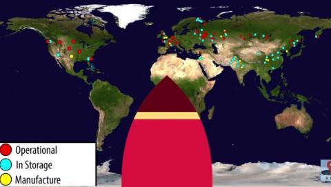 Под Саратовом сосредоточено 6 процентов мирового ядерного ружия