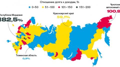 Forbes: Госдолг Саратовской области превышает доходы региона